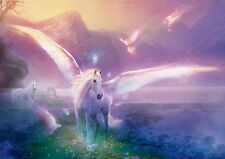Unicorn Pegasus Mythical Photo Poster Print ONLY Wall Art A4