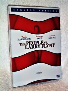 The People Vs Larry Flynt (DVD, 2003, Special Edition) Woody Harrelson SLIPCOVER