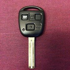 Lexus IS GS LS RX 3 button remote central lock key fob TOY48 ID4C CAN CUT & CODE