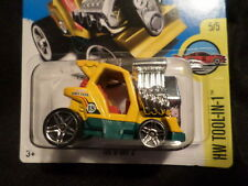 HW HOT WHEELS 2016 HW TOOL-N-1 #5/5 TEE'D OFF 2 YELLOW HOTWHEELS VHTF