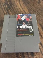 Mike Tyson's Punch-Out Nintendo Entertainment System NES Cart NE2