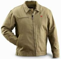 Rocky Core Insulated Canvas Short Jacket - Men Size XLARGE / Tan