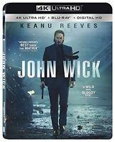 JOHN WICK (4K ULTRA HD) - Blu Ray -  Region free