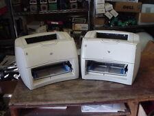 2 HP LaserJet 1200  Laser Printers *REFURBISHED* warranty & Toner