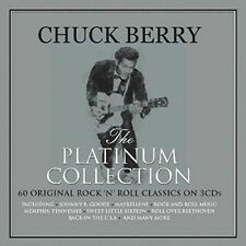 Chuck Berry The Platinum Collection 60 Original Rock 'n' Roll Hits 3 CD Set