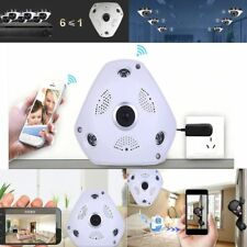 360° Panoramic Wireless Home Security Surveillance Ip Camera Audio Video WiFi