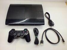 !!! PLAYSTATION PS3 Super SLIM 500GB Konsole V4.60 + Controller GUT !!!