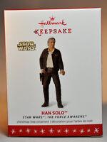 Hallmark  Han Solo   Star Wars Force Awakens   Series 20th   2016 Ornament