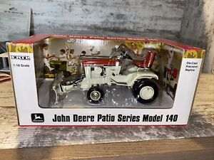 1/16th Scale John Deere 140 Patio Series Patio Red With Front Blade Ertl