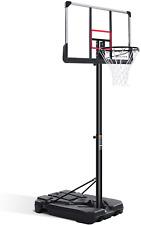 Marnur Portable Basketball Hoop 7.6 ft-10 ft adjustible-height kids