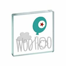 Spaceform Miniature Glass Token Woo Hoo Balloon Celebration Keepsake Gift Box