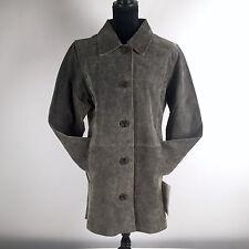 JL Studio Women's Leather Coat Jacket Size 16W Five Buttons NWT
