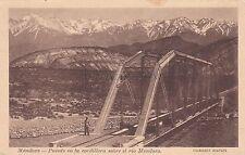 ARGENTINA - Mendoza - Puente en la cordillera sobre el rio Mendoza