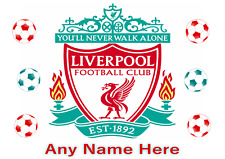 Personalised Kids Childrens A4 Placemat /Dinner Mat & Puzzles Liverpool Football