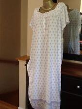 Women's Plus Croft & Barrow Knit Short Sleeve Long Cotton Blend Nightgown Size2X