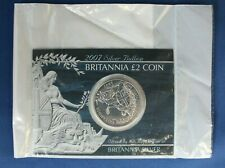 2007 Silver 1oz Britannia £2 coin in Card Holder - Sealed    (AG7/18)