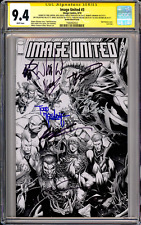 Image United #3 CGC SS 9.4 (1:100 Keown Cover) Signed 8x!!