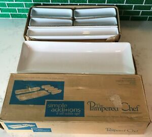 Pampered Chef Simple Additions 6 pc Hospitality Set New Old Stock Open Box #1945