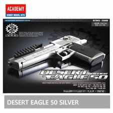 Academy Desert Eagle 50 SILVER Hand Grips 20mm /ABS Airsoft Pistol BB Gun 6mm