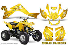 SUZUKI LTZ 400 09-15 GRAPHICS KIT CREATORX DECALS COLD FUSION Y
