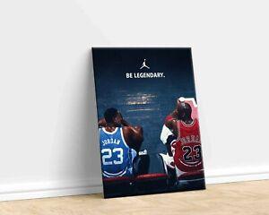 Jordan Be Legendary Motivational Quote Michael Jordan Art Print