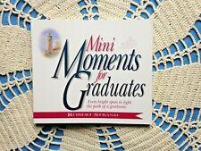 Mini Moments for GRADUATESby Robert Strand Soft cvr Inspiring Stories 109 pg NEW