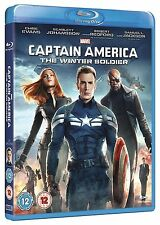Captain America Part 2 The Winter Soldier Blu ray UK Brand New Sealed R2