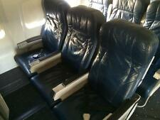 AIRBUS A320  Airplane Seats with seatbelts and back drop tray