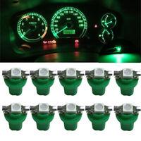 10x T5 B8.5D 5050 1SMD Car LED Bulbs Dashboard Dash Gauge Instrument Light Lamps