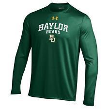 Baylor Bears NCAA Men's Under Armour Long Sleeve Tech Shirt, Forrest Green, NWT