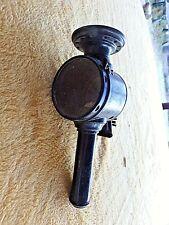 Ancienne lanterne à bougie de vélo LUXOR