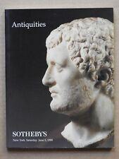 """SOTHEBY'S NEW YORK """"ANTIQUITIES"""", JUNE 5, 1999"""
