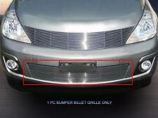 Fits 2007 2008 09 10 2011 Nissan Versa Bolt-On Billet Grille Grill Bumper
