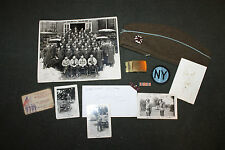 Original Grouping Identified to a WW2 Era New York State Guard Infantry Soldier