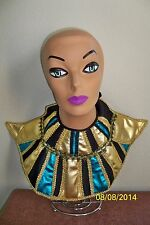 ADULT EGYPTIAN COLLAR NILE CLEOPATRA QUEEN COSTUME ACCESSORY FM58299