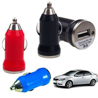Universal Car Charger Candy Color Power Adapter 5V 3.1A USB Socket For Phone IT