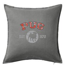 Pug Dog Breed Printed Animal Pet Print Cushion Pillow Cover Case 50x50 cm Home