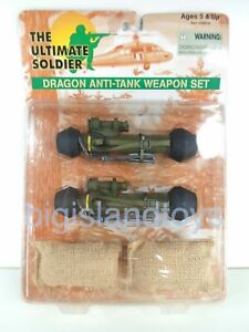 The Ultimate Soldier 21st Century Dragon Anti-Tank Weapon Set Accessories 1:6