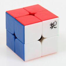 Dayan 2X2 Stickerless Speed Cube Professional Speed cube Smooth 3D Twist