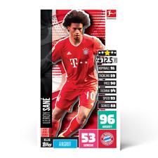 Topps Match Attax Leroy Sané XL15 2020 2021 Bundesliga Big XXL Sane XL