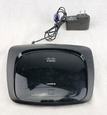 Linksys WRT120N 4-Port Wireless Router Home WiFi Network With Power Cord