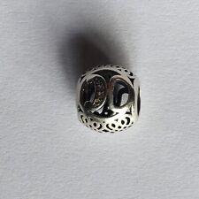 Genuine Silver Pandora Letter K Charm