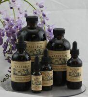 VALERIAN Extract ADHD Calm Deep Relax Relief Rest Sleep ORGANIC FOLK Tincture~