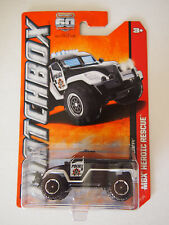 Matchbox  2012 ISSUE ROAD RAIDER POLICE TRUCK MBX HEROIC RESCUE