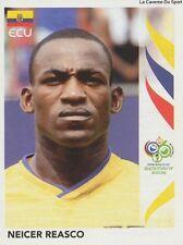 N°086 NEICER REASCO # ECUADOR STICKER PANINI WORLD CUP GERMANY 2006