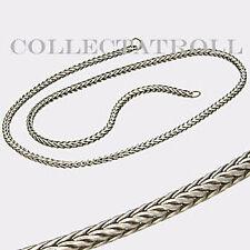 "Authentic Trollbead Necklace No Lock 18.7"" Trollbeads  TAGNE-00006"