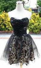 NWT MASQUERADE $100 Black Multi Cocktail Prom Dress 5