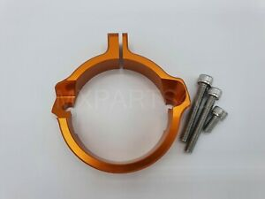 KTM EXC XC SX 250 300 17-21 EXHAUST FLANGE GUARD PROTECTOR 2018 2019 2020 2021