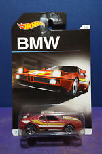 HOT WHEELS BMW M1 in Red - HW BMW Anniversary Series 1/8 Long Card