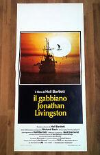 IL GABBIANO JONATHAN LIVINGSTON locandina poster Seagull Hall Bartlett Bach AC67